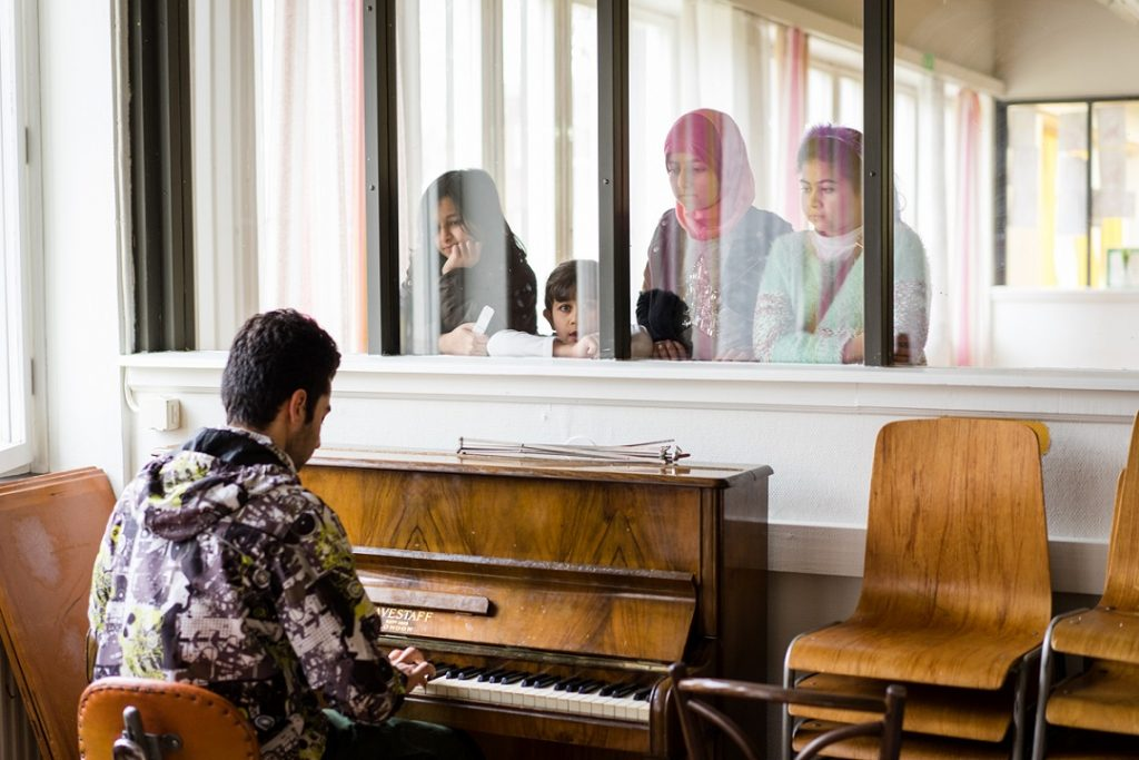 Featured photograph courtesy of SGN, Jose Farinha at the Restad Gård Asylum Centre, Sweden