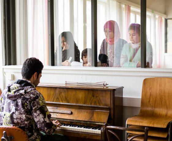 Featured photograph courtesy of SGN, Jose Farinha at the Restad Gård Asylum Centre, Sweden